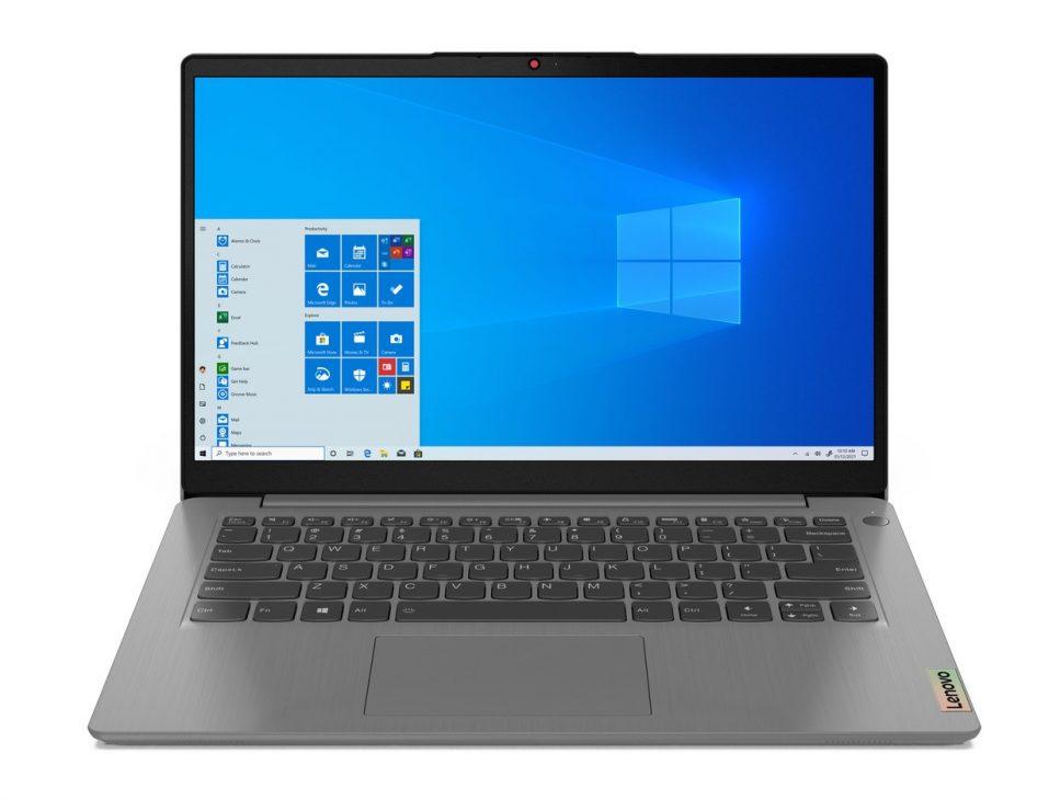 Bộ đôi IdeaPad Slim 3/3i Gen 6: laptop cho học tập, giải trí và làm việc hiện đại - 02 Ideapad 3 14inch Hero Front Facing JD Arctic Grey