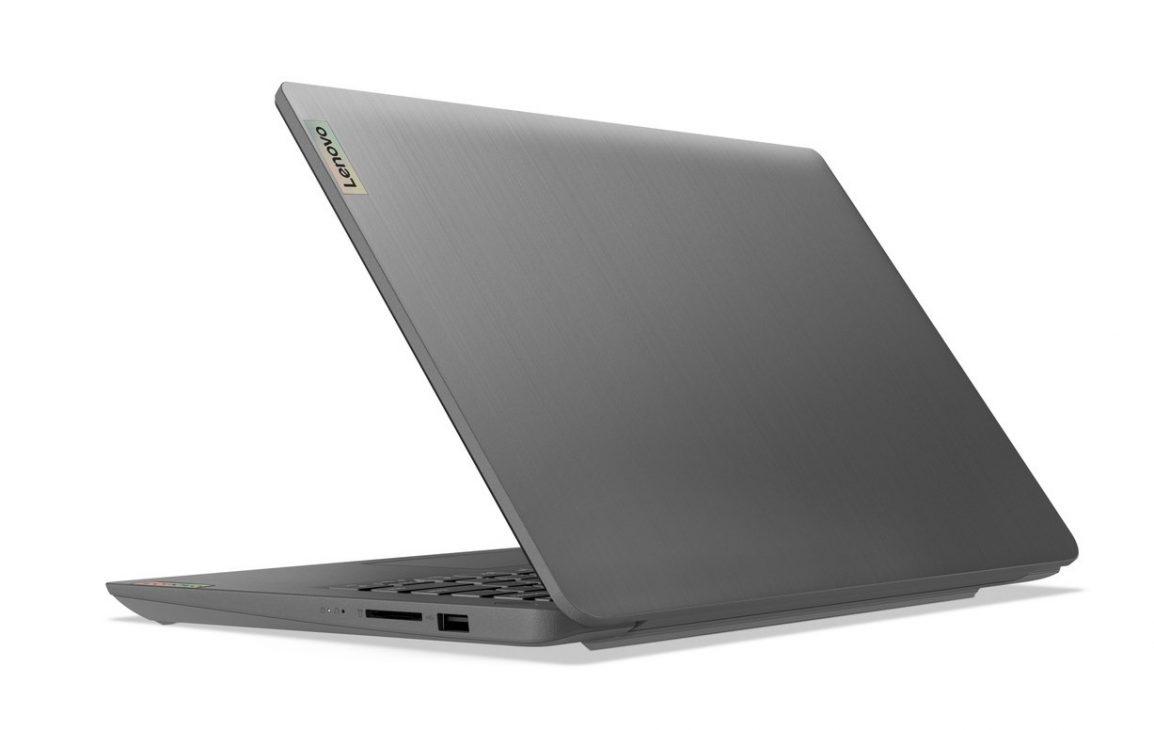Bộ đôi IdeaPad Slim 3/3i Gen 6: laptop cho học tập, giải trí và làm việc hiện đại - 07 Ideapad 3 14inch Hero Rear Facing Left Arctic Grey