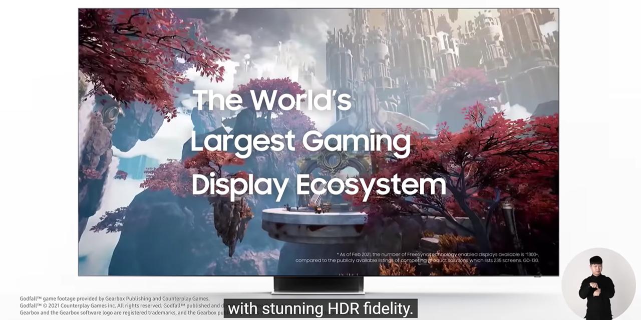 Samsung giới thiệu loạt sản phẩm nghe nhìn đẳng cấp mới - 2021 03 03 143