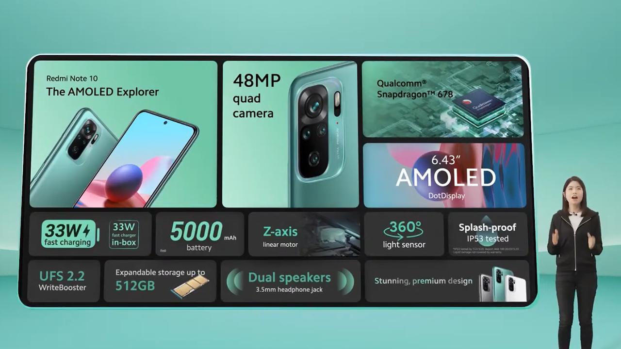 """Redmi Note 10 ra mắt 4 phiên bản mới, có cả bản 5G giá """"trung thật"""" - 2021 03 05 87"""