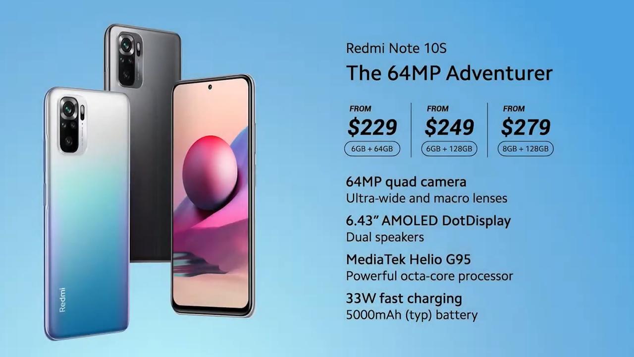 """Redmi Note 10 ra mắt 4 phiên bản mới, có cả bản 5G giá """"trung thật"""" - 2021 03 05 97"""