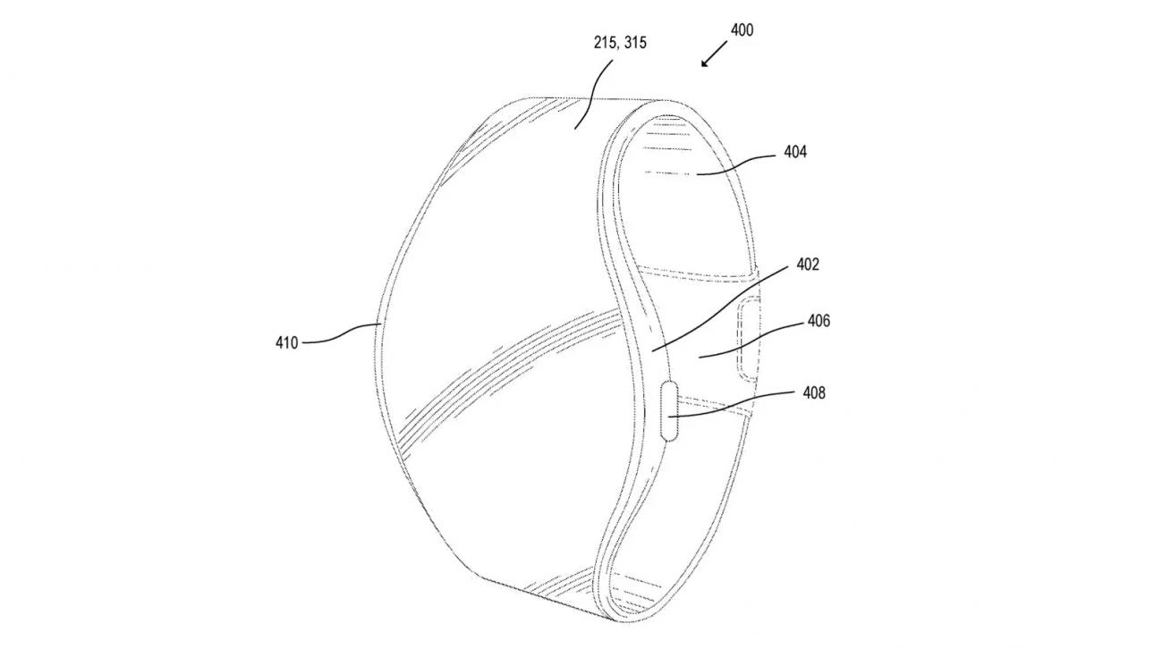 Apple Watch tương lai sẽ có màn hình trải theo toàn bộ chiều dài dây đồng hồ - Apple Watch 2