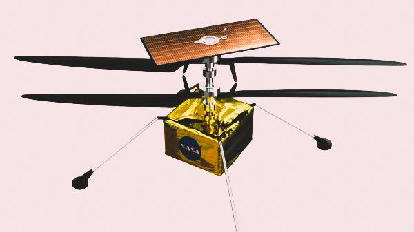 Qualcomm hợp tác cùng NASA phát triển dự án trực thăng sao Hoả - Ingenuity 3