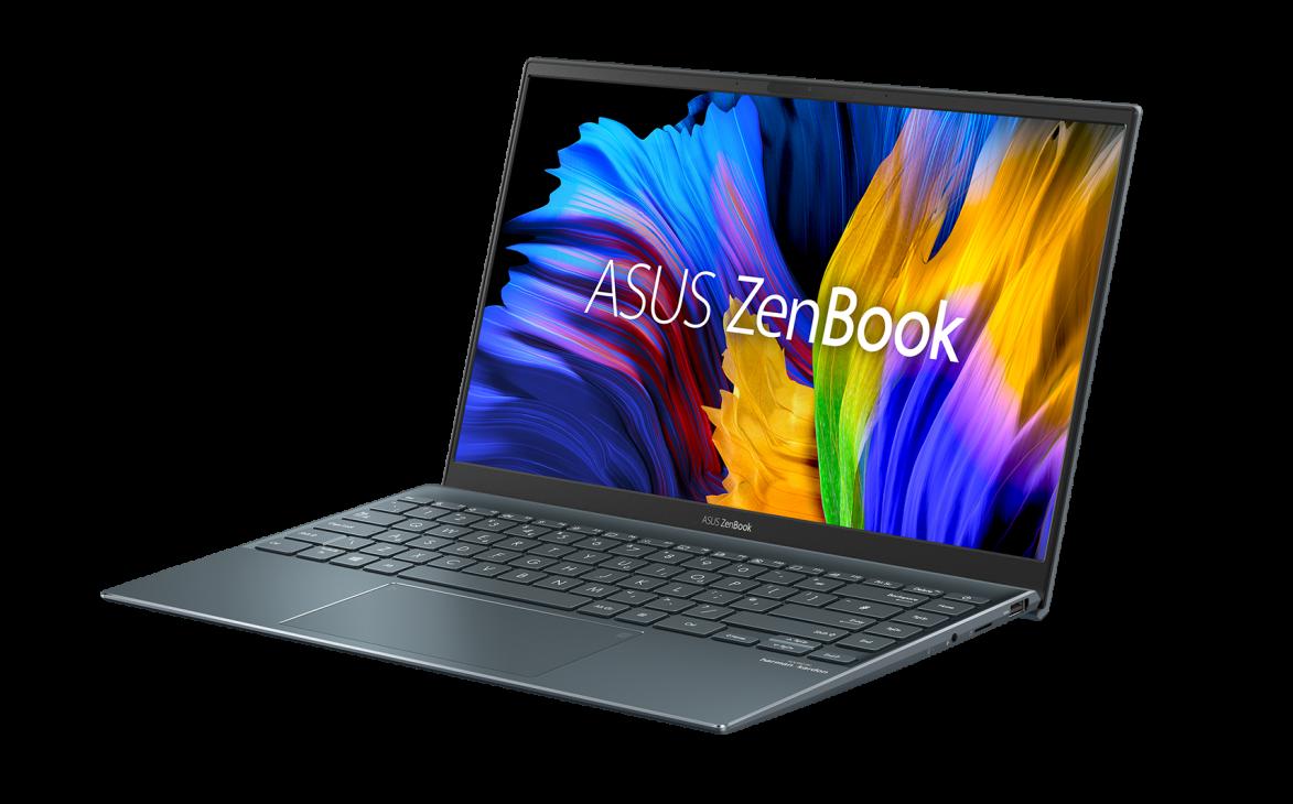 Ra mắt laptop ZenBook 14 UM425 mỏng nhẹ trang bị vi xử lý tiết kiệm điện - ZenBook 14 UM425QA Product photo Etail 2G Pine Grey 08 2000x2000
