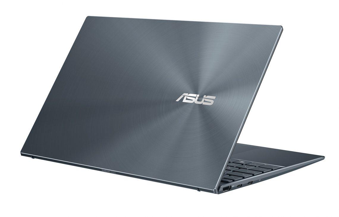 Ra mắt laptop ZenBook 14 UM425 mỏng nhẹ trang bị vi xử lý tiết kiệm điện - ZenBook 14 UM425QA Product photo Etail 2G Pine Grey 09 2000x2000
