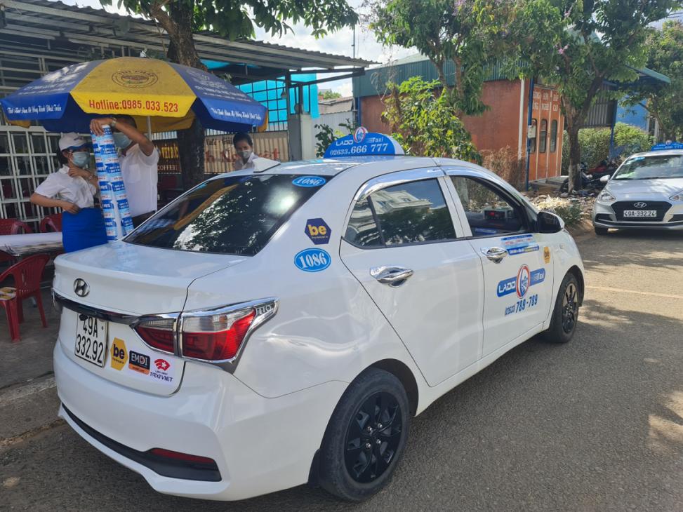 Ứng dụng gọi xe Be mở rộng dịch vụ beTaxi lên 27 tỉnh thành trong năm 2021 - beTaxi Lam Dong 1 R