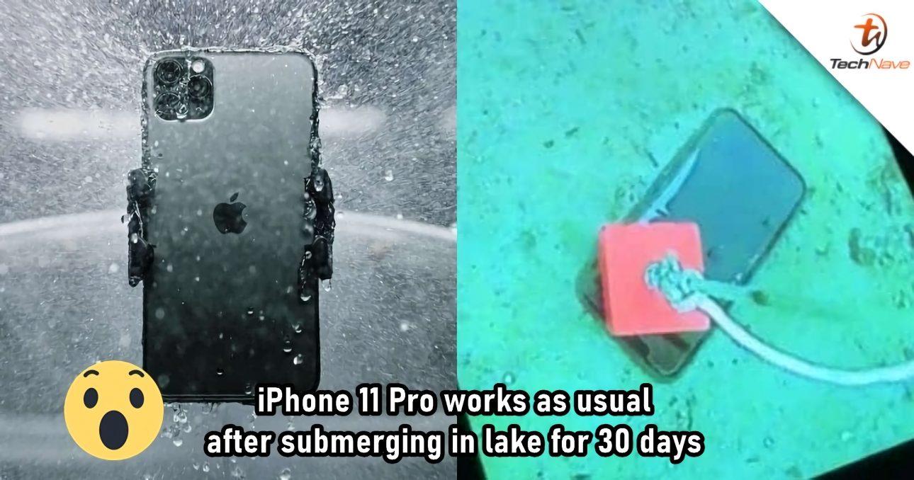Điện thoại vẫn hoạt động hình thường dù ở đáy hồ đóng băng suốt 1 tháng - iPhone 11 Pro 3