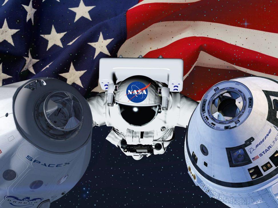 NASA, SpaceX hợp tác để không va vào nhau ngoài không gian - nasa 1