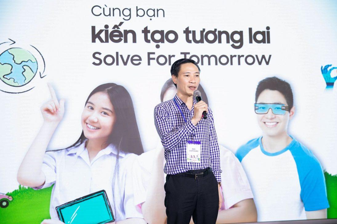 Solve for Tomorrow 2021, nhìn thấy tương lai từ ý tưởng của trẻ em vùng sâu vùng xa - 03. Ong Bui Tien Dung – Vu Giao duc Chinh tri va Cong tac Hoc sinh sinh vien