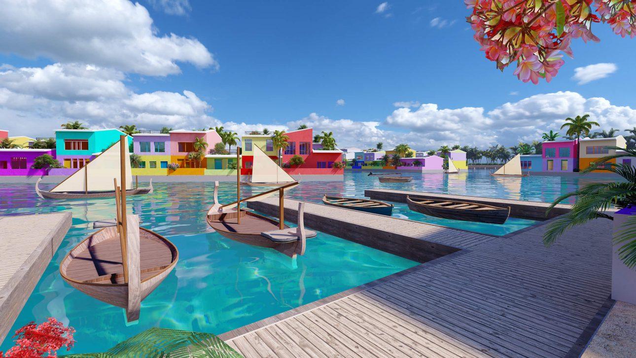 Maldives xây thành phố nổi đầu tiên thế giới - nơi sinh sống tuyệt vời cho người dân khi mực nước biển toàn cầu đang tăng dần - 1 26