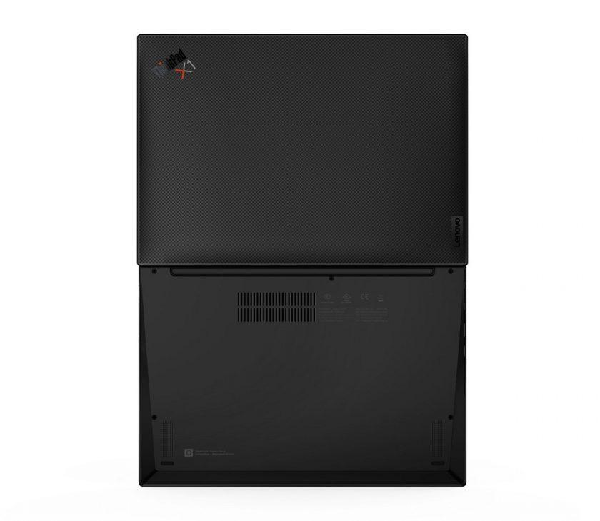 Laptop cao cấp ThinkPad X1 Carbon Gen 9: hiệu suất cao, kết nối 5G và bảo mật toàn diện - 15 X1 Carbon G9 Tour Rear Facing A D Cover CARBON edited