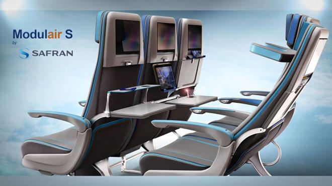 Chiêm ngưỡng ghế ngồi độc đáo của máy bay trong tương lai - 4
