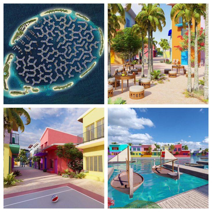 Maldives xây thành phố nổi đầu tiên thế giới - nơi sinh sống tuyệt vời cho người dân khi mực nước biển toàn cầu đang tăng dần - 5 1