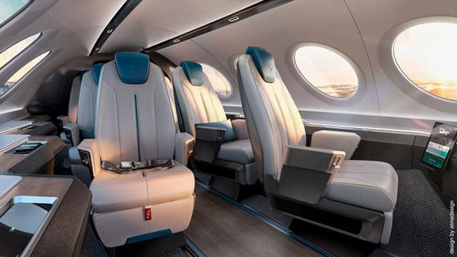 Chiêm ngưỡng ghế ngồi độc đáo của máy bay trong tương lai - 5