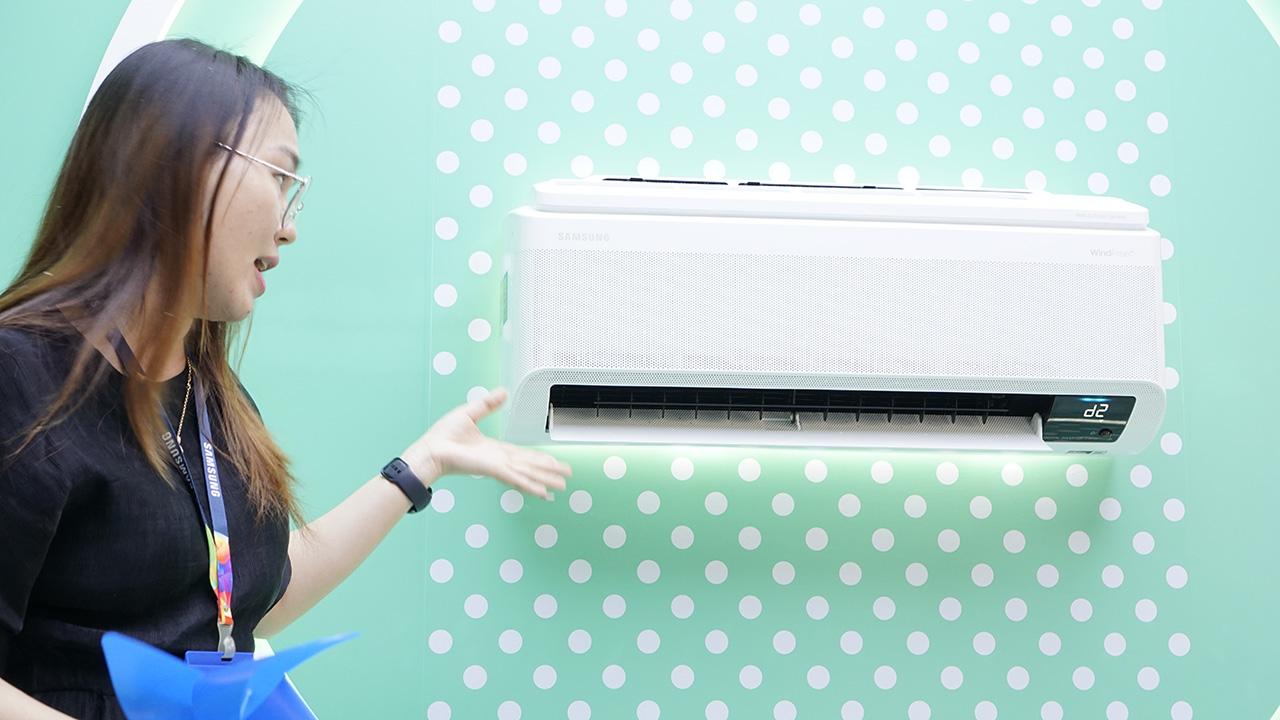 Samsung ra mắt dòng máy điều hòa WindFree tiết kiệm điện - DSC1102