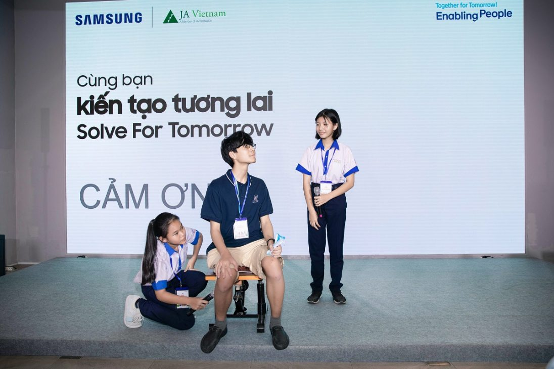Solve for Tomorrow 2021, nhìn thấy tương lai từ ý tưởng của trẻ em vùng sâu vùng xa - Doi Hoa huong duong 04