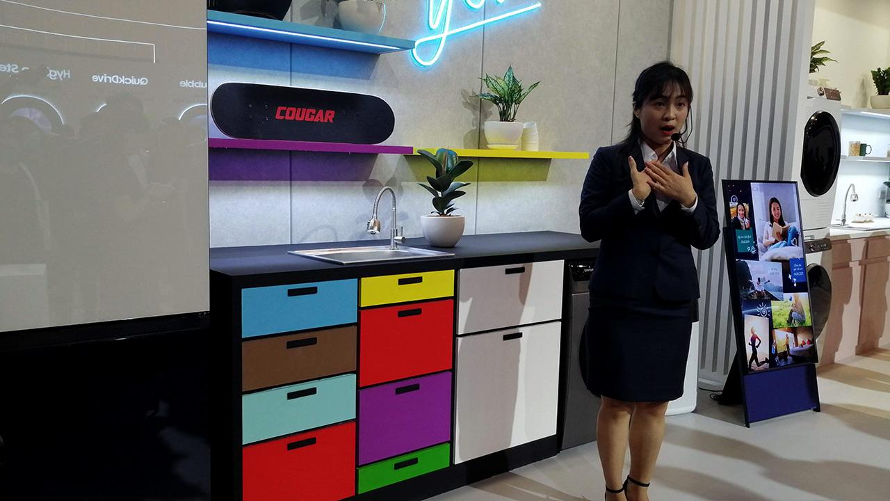 Máy giặt Samsung AI: nhận diện được mức độ dơ của quần áo, ra lệnh giặt bằng giọng nói - IMG 20210414 151811