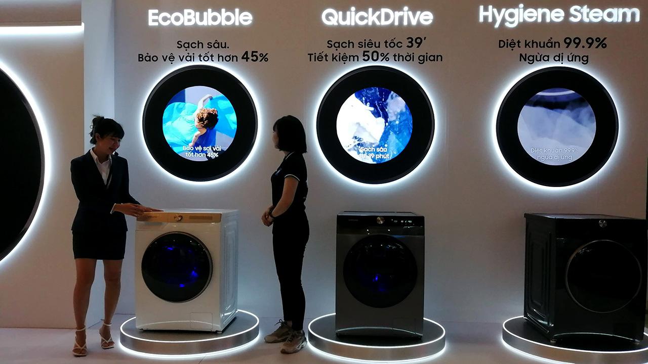 Máy giặt Samsung AI: nhận diện được mức độ dơ của quần áo, ra lệnh giặt bằng giọng nói - IMG 20210414 153907