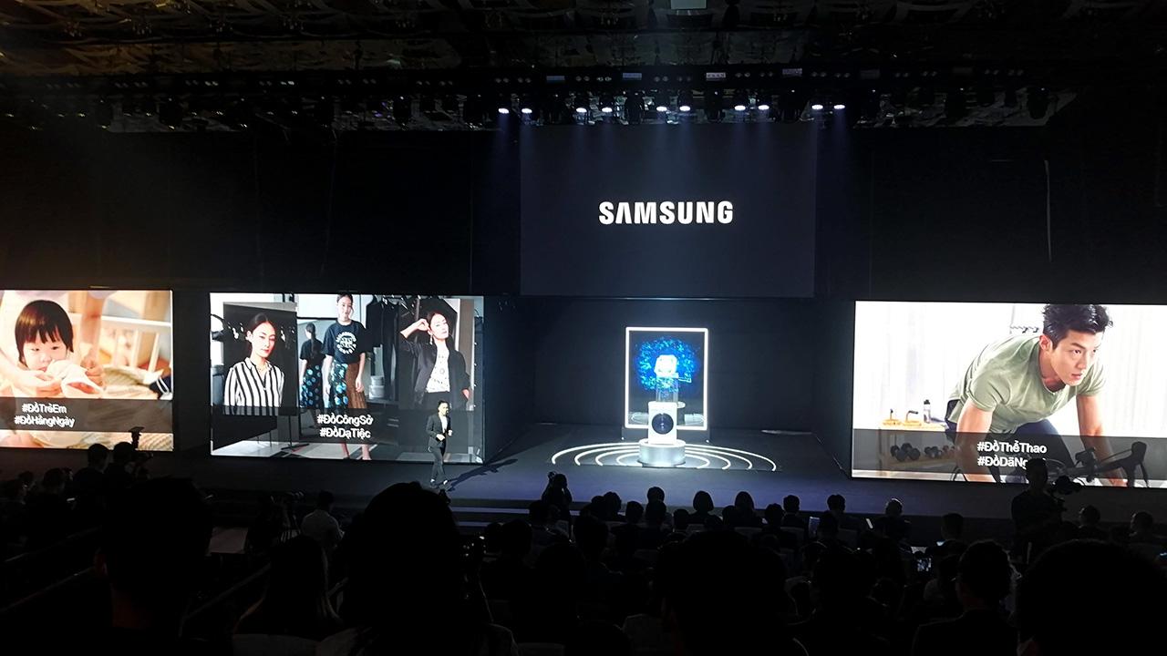 Máy giặt Samsung AI: nhận diện được mức độ dơ của quần áo, ra lệnh giặt bằng giọng nói - IMG 20210414 172438