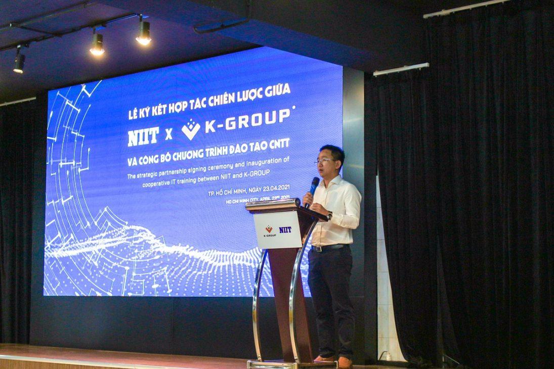 K-Group ký hợp tác với NIIT đào tạo CNTT, đáp ứng nhu cầu chuyển đổi số của doanh nghiệp - IMG 3350