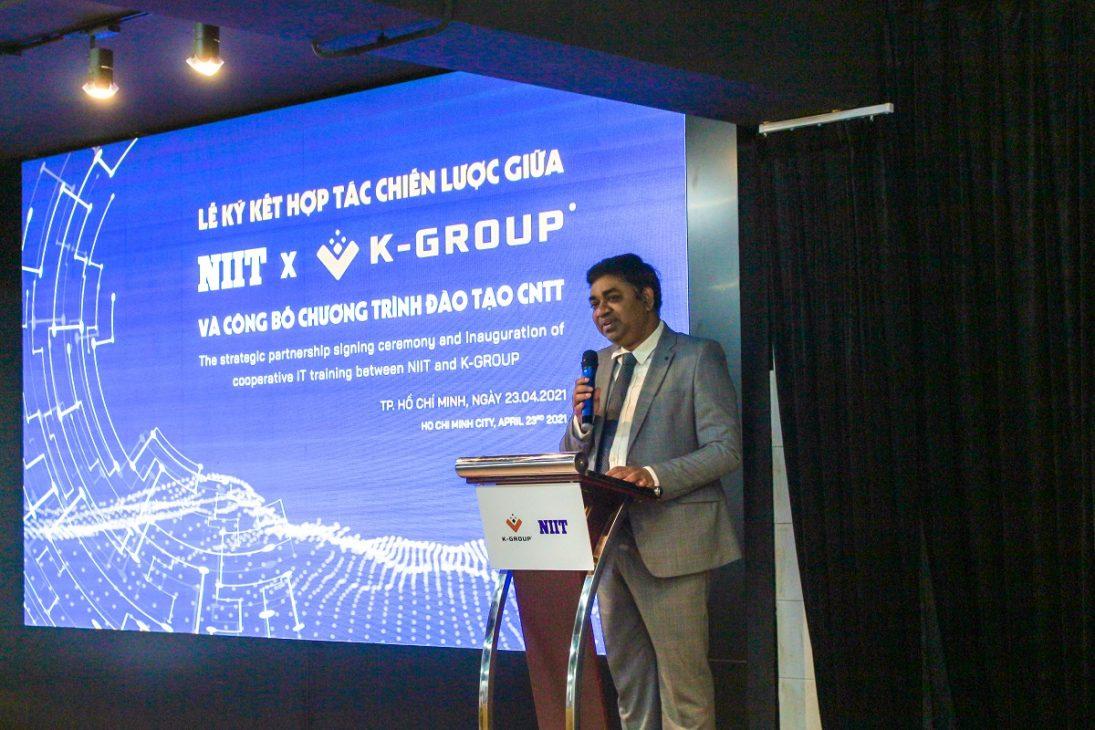 K-Group ký hợp tác với NIIT đào tạo CNTT, đáp ứng nhu cầu chuyển đổi số của doanh nghiệp - IMG 3355