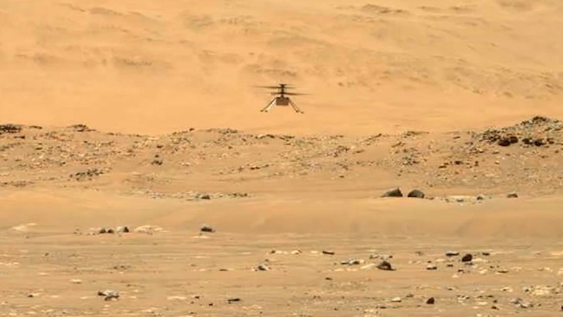 Trực thăng Ingenuity nhỏ của NASA cất cánh lần 2 trên sao Hỏa, thành công bất ngờ - Ingenuity 4 1