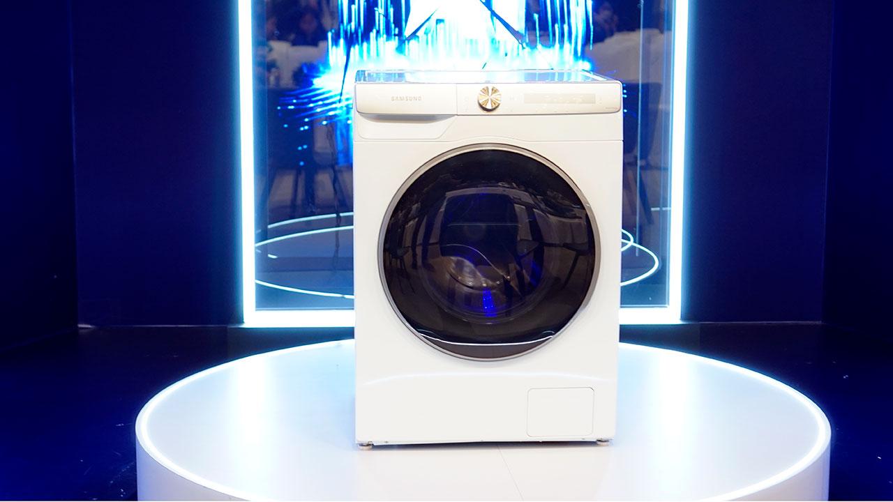 Máy giặt Samsung AI: nhận diện được mức độ dơ của quần áo, ra lệnh giặt bằng giọng nói - Sasung AI 4