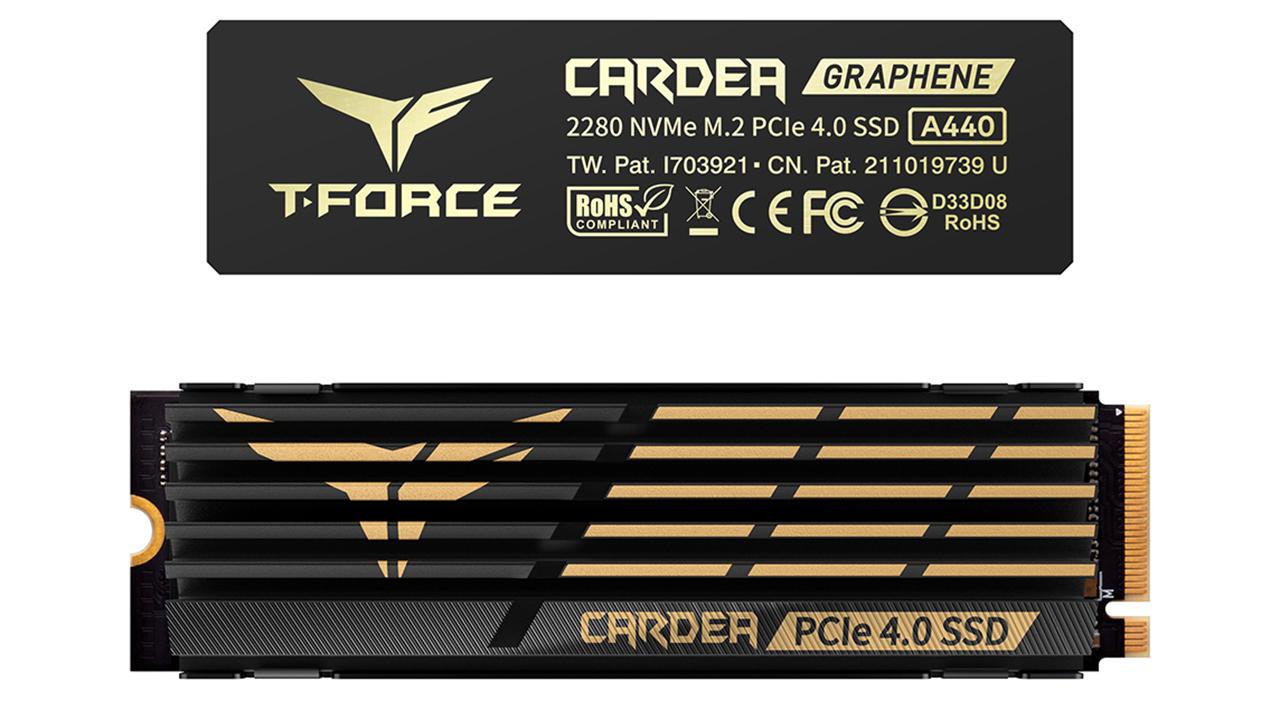 TEAMGROUP phát động cuộc thi thiết kế wallpaper toàn cầu và ra mắt các dòng bộ nhớ mới - T FORCE CARDEA A440 PCIe 4.0 SSD