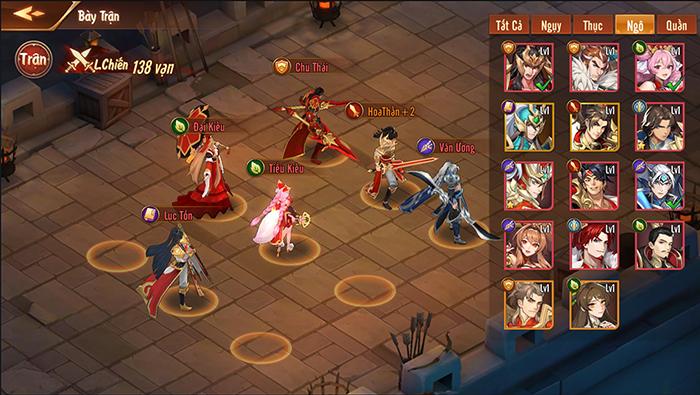 Game đấu tướng Tam Quốc Tân OMG3Q VNG chính thức đón game thủ - Tan OMG3Q VNG 3