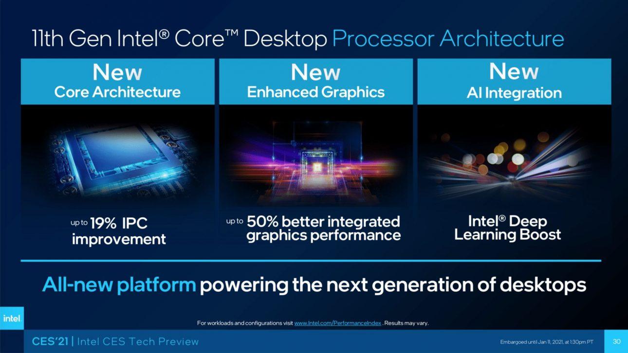 Intel Core i5-11600K: Hiệu suất cải thiện đáng kể trên mọi trải nghiệm - intel rocket lake slajd 2