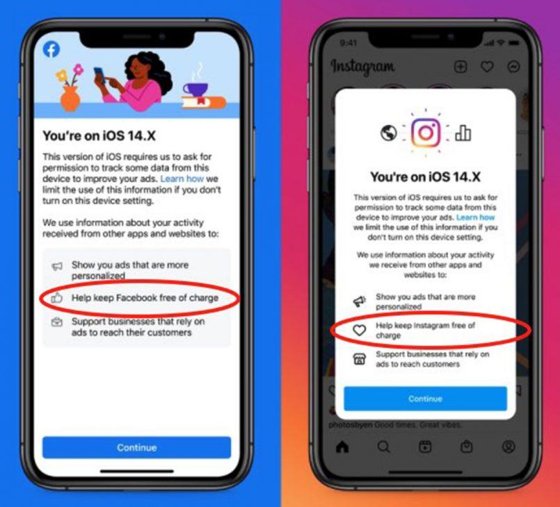 """Facebook muốn người dùng bật tính năng theo dõi để giữ ứng dụng """"miễn phí"""" - 3"""