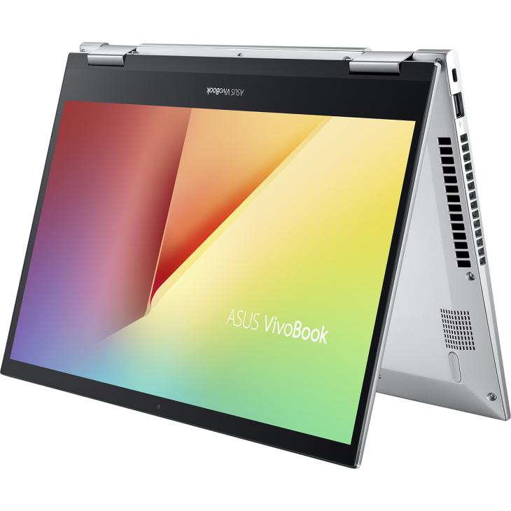 VivoBook Flip 14 TP470: laptop xoay gập, màn hình cảm ứng dành cho giới trẻ, giá từ 14,9 triệu đồng - ASUS TP470 Product photo  2S Transparent Silver 22