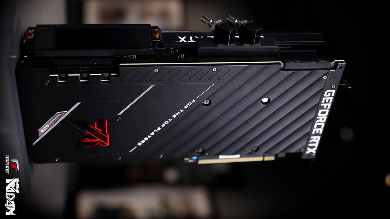 Cận cảnh card đồ họa iGame GeForce RTX 3090 KUDAN phiên bản giới hạn - 201430071 895957617802213 2623085569357369440 n