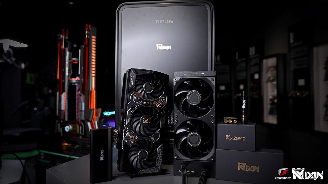 Cận cảnh card đồ họa iGame GeForce RTX 3090 KUDAN phiên bản giới hạn - 201832175 2549769591998963 8301368070975953208 n