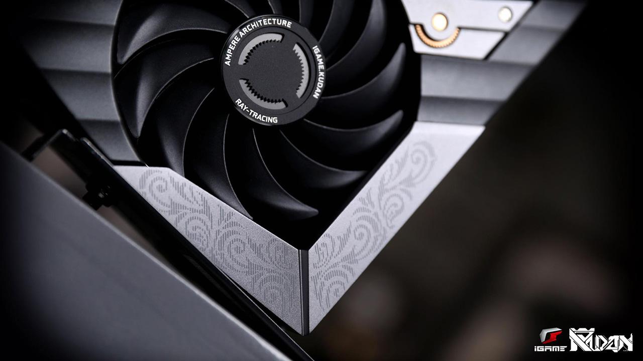 Cận cảnh card đồ họa iGame GeForce RTX 3090 KUDAN phiên bản giới hạn - 202081501 273381261234179 856675771962410923 n