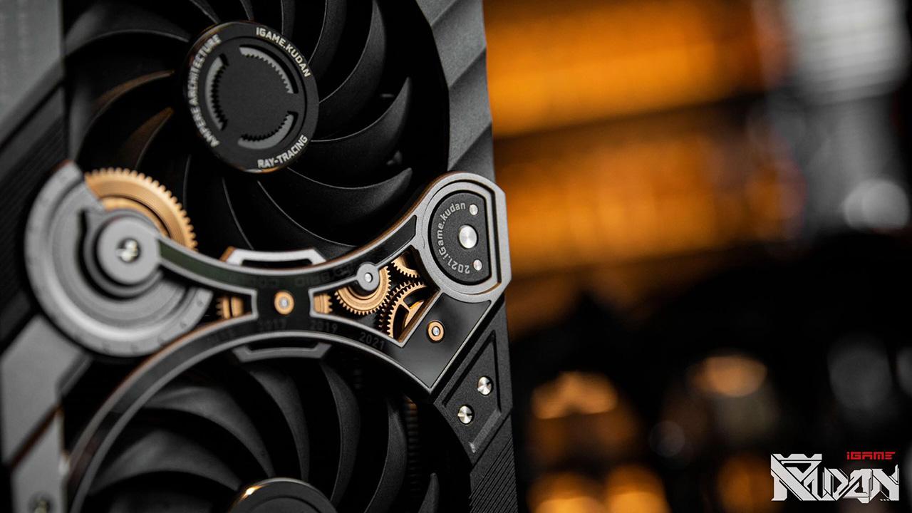 Cận cảnh card đồ họa iGame GeForce RTX 3090 KUDAN phiên bản giới hạn - 202767639 1088428795019477 1294316569659793356 n
