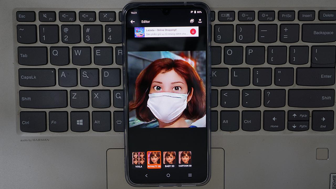 Cẩn trọng trò tạo ảnh chân dung hoạt hình với ứng dụng Voilà AI Artist - DSC1535