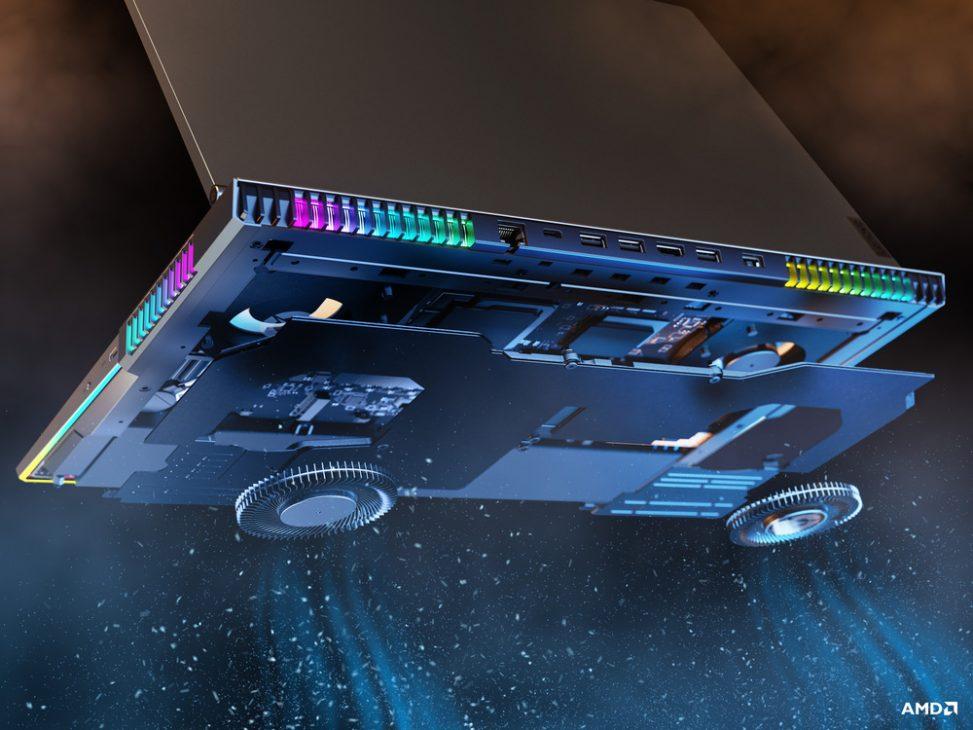 Lenovo Legion 7: cỗ máy ấn tượng của game thủ và streamer - 10 Legion 7 Closeup Thermal Module edited