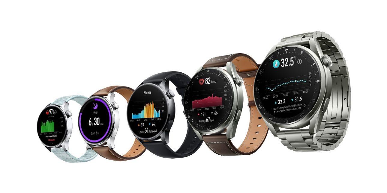 Ra mắt bộ đôi đồng hồ thông minh cao cấp HUAWEI WATCH 3 Series - HUAWEI WATCH 3 Series KSP Family shot EN