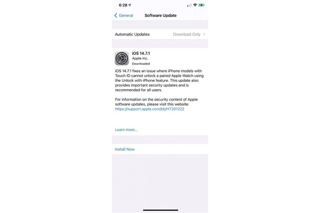 Nhiều người dùng iPhone bị mất kết nối sau khi nâng cấp lên iOS 14.7.1, cách khắc phục - 2 30
