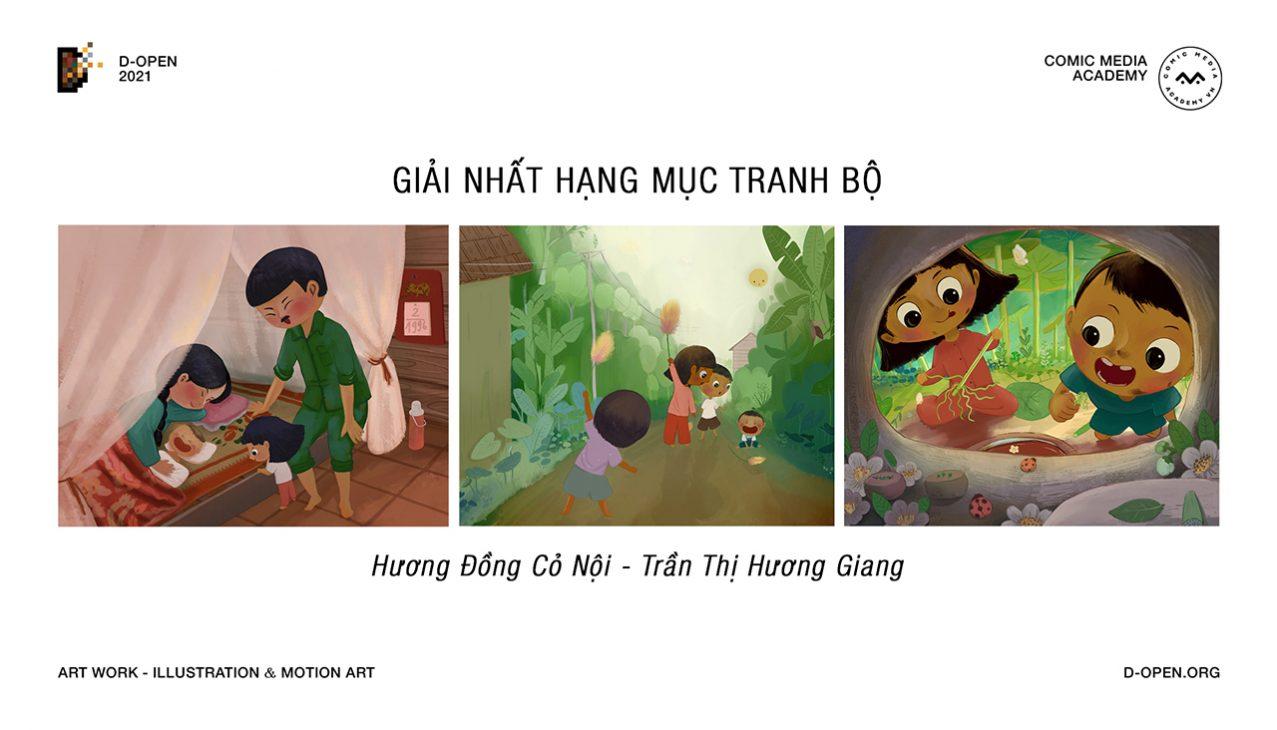 Cuộc thi D-Open 2021 khép lại với 9 tác phẩm xuất sắc, mang đậm dấu ấn Việt - 3.Tran Thi Huong Giang