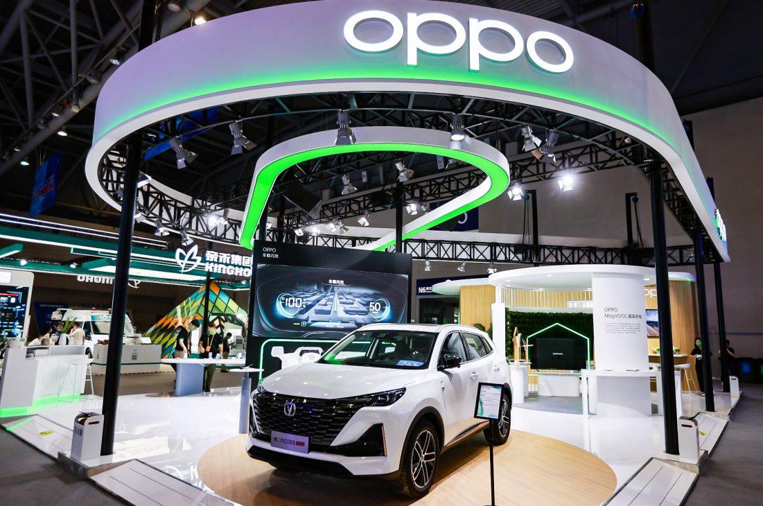OPPO trình làng sạc nhanh không dây MagVOOC mới và loạt công nghệ kết nối cho xe hơi - 4. Su kien Smart China Expo 2021
