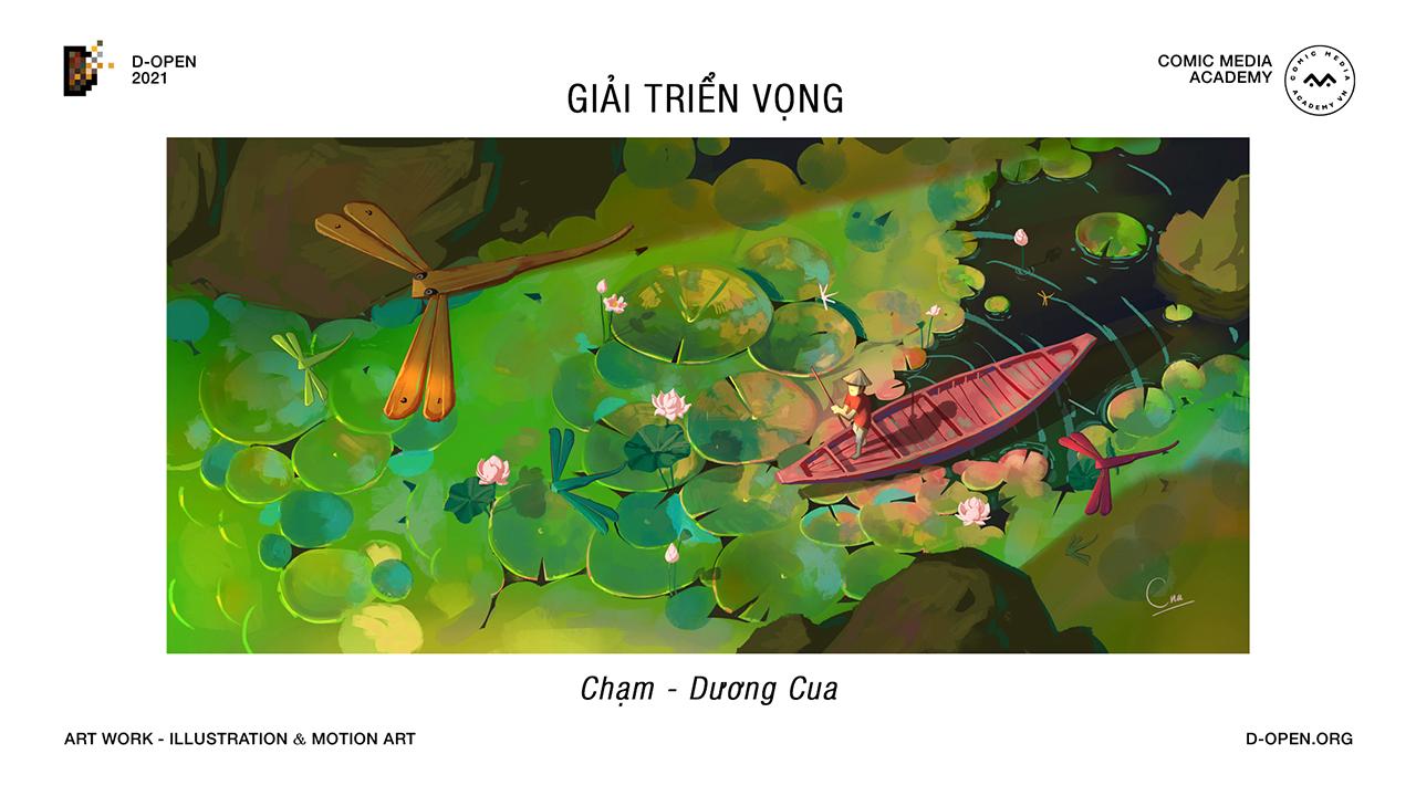 Cuộc thi D-Open 2021 khép lại với 9 tác phẩm xuất sắc, mang đậm dấu ấn Việt - 6.Giai Trien Vong 01