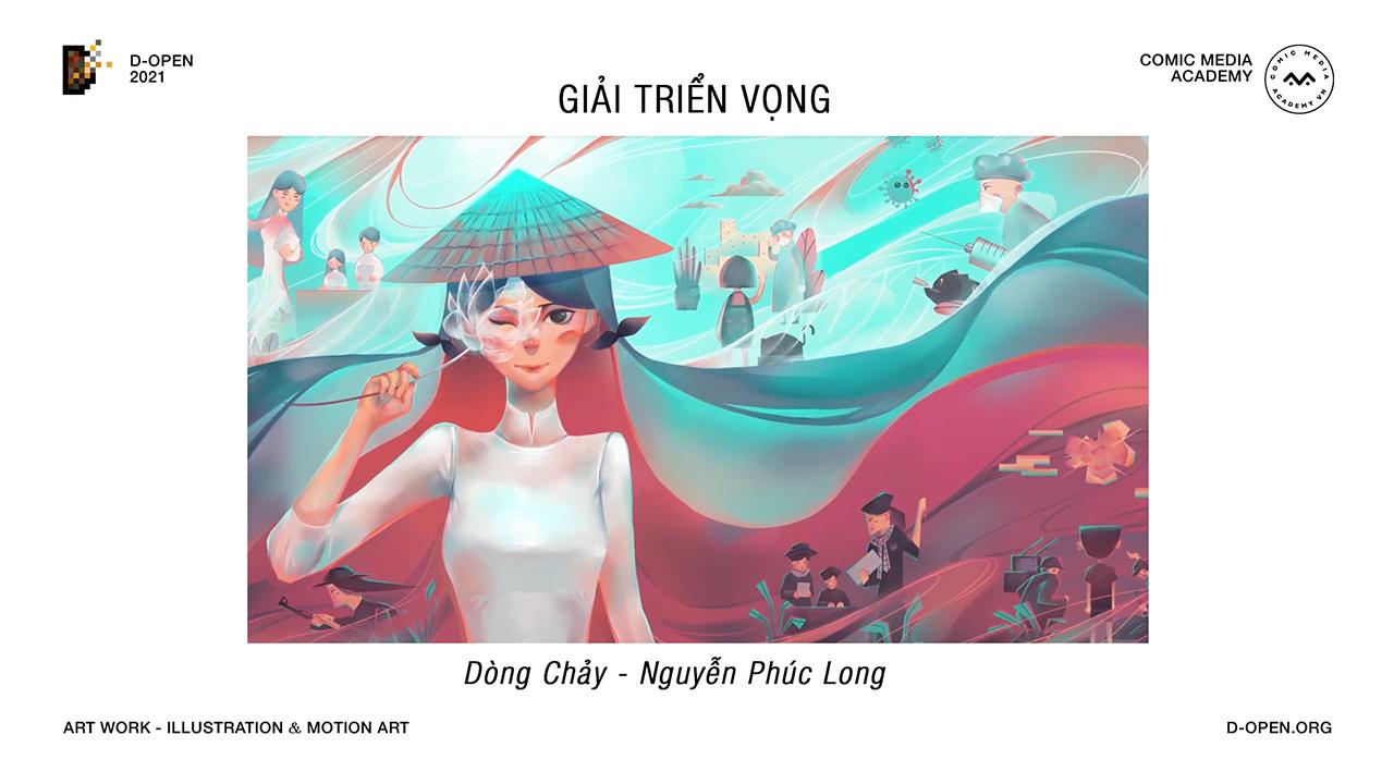 Cuộc thi D-Open 2021 khép lại với 9 tác phẩm xuất sắc, mang đậm dấu ấn Việt - 7.Giai Trien Vong 04