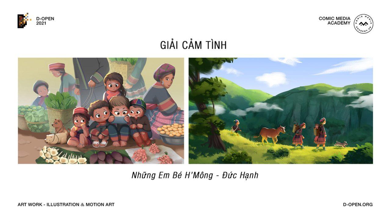 Cuộc thi D-Open 2021 khép lại với 9 tác phẩm xuất sắc, mang đậm dấu ấn Việt - 8.Giai CamTinh