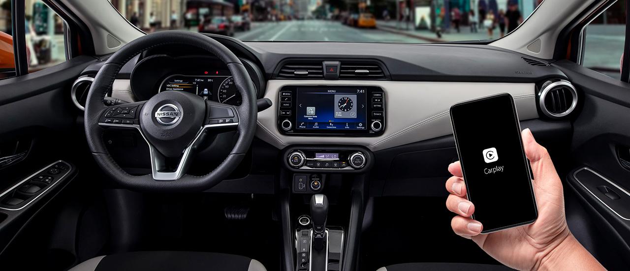 Nissan Almera trang bị công nghệ chuyển động thông minh ra mắt thị trường Việt, giá từ 469 triệu đồng - Apple carplay
