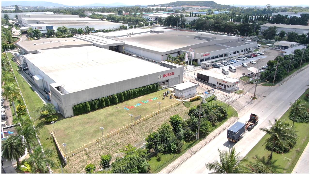 Bosch mở rộng nhà máy sản xuất hệ thống phanh ABS cho xe máy tại Đông Nam Á - Press photo AmaP in Rayong TH