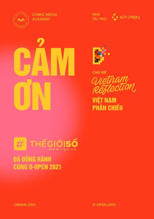 Cuộc thi D-Open 2021 khép lại với 9 tác phẩm xuất sắc, mang đậm dấu ấn Việt - Thiep Camon Thegioiso