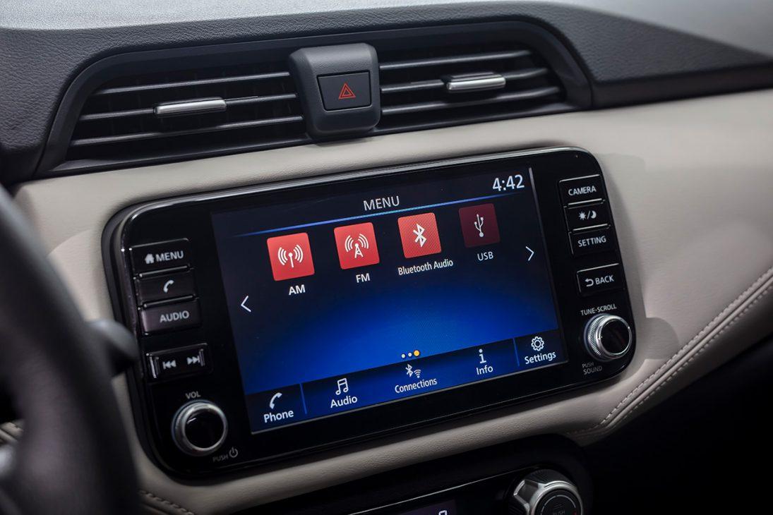 Nissan Almera trang bị công nghệ chuyển động thông minh ra mắt thị trường Việt, giá từ 469 triệu đồng - man hinh giai tri A IVI 8 inch