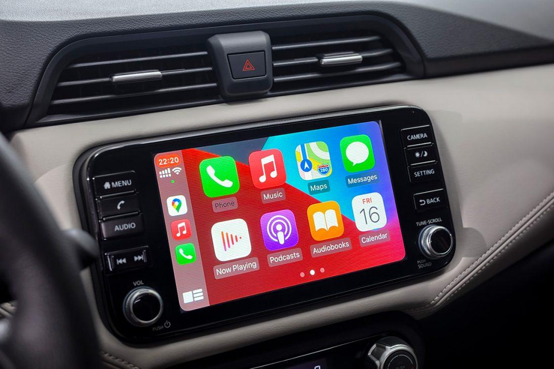 Nissan Almera trang bị công nghệ chuyển động thông minh ra mắt thị trường Việt, giá từ 469 triệu đồng - man hinh giai tri A IVI 8 inch 2
